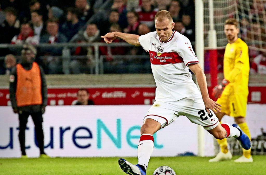 Holger Badstuber ist beim VfB Stuttgart nicht unumstrittenFoto:Pressefoto Baumann Foto: