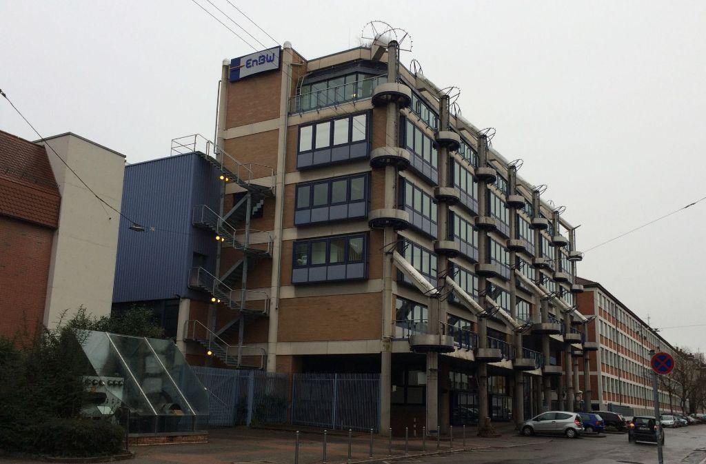 Das EnBW-Areal im Stuttgarter Osten – hier an der Stöckachstraße – könnte in ein attraktives, zentrumsnahes Wohnquartier umgestaltet werden. Foto: Sascha Maier