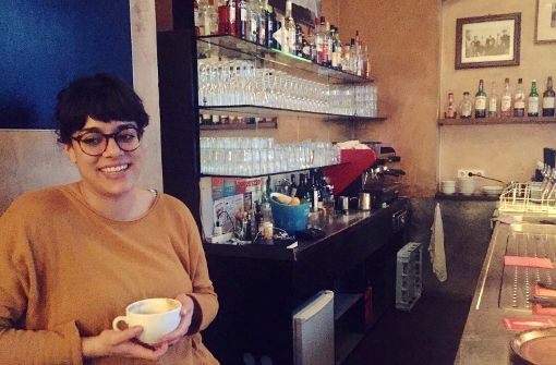 Nina Dias da Silva nennt das Kottan ihr zweites Zuhause. Foto: Ina Schäfer