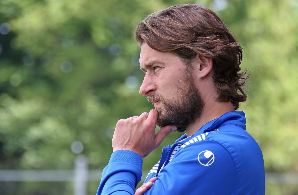 Denkt Kickers-Coach Tomasz Kaczmarek schon an die Chinesen? Foto: Pressefoto Baumann