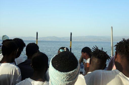 Wegen libyscher Miliz erreichen weniger Flüchtlinge Europa