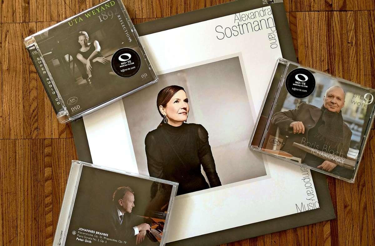 Alexandra Sostmanns Einspielung gibt es auch  auf Vinyl. Foto: Hans Jörg Wangner