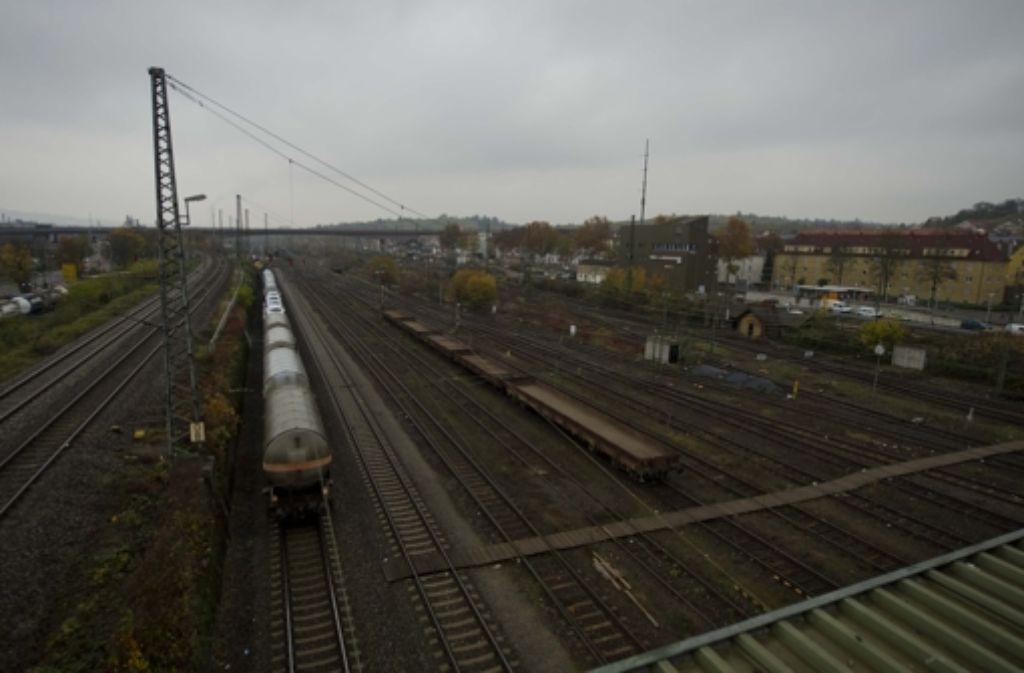 Auf dem ehemaligen Untertürkheimer Güterbahnhof sollen Wartungsanlagen für Züge gebaut werden. Foto: Lichtgut/Max Kovalenko