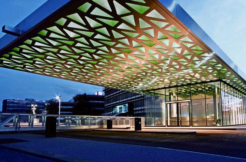 Ausgezeichnetes Bauwerk: Der Trumpf-Campus in Ditzingen gewann 2016 den Industriebaupreis und steht  auch Pate für das Engagement von Unternehmen an der Iba. Foto: David Franck