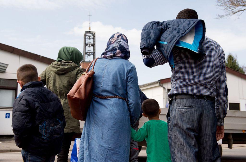 Der Kompromiss von CDU und CSU sieht vor, dass Migranten auch direkt abgewiesen werden können. Foto: dpa