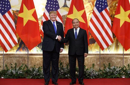 """Trump nennt Kim vorab seinen """"Freund"""""""