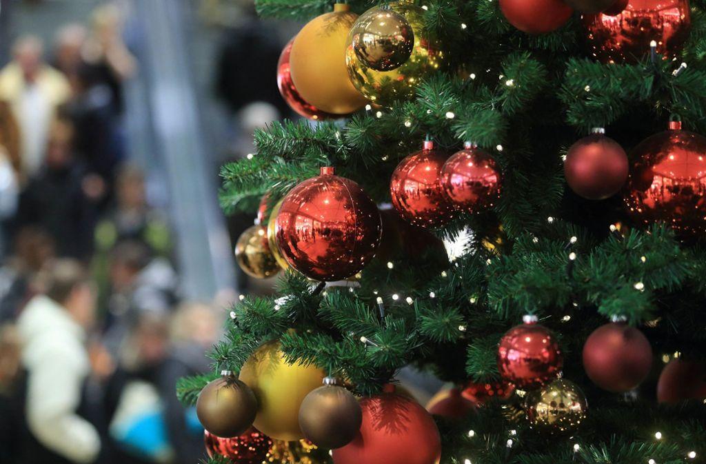 Die Lebensdauer eines Weihnachtsbaums ist in der Regel recht kurz. Foto: dpa/Jens Wolf