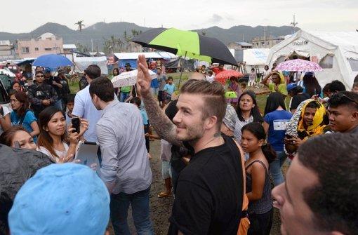Fußball-Idol besucht Philippinen
