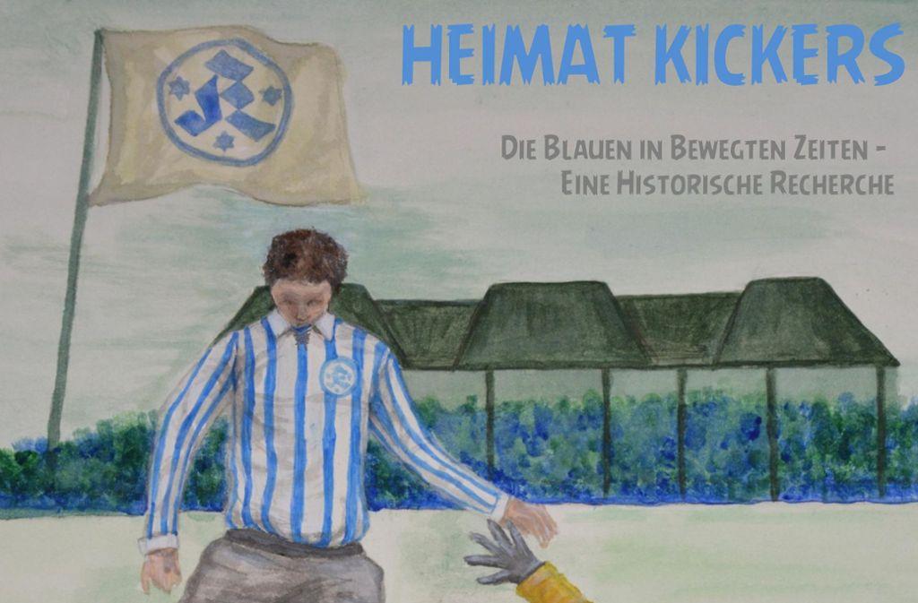 Das Kickers Fanprojekt arbeitete die Vergangenheit der Blauen auf. Foto: Fanprojekt
