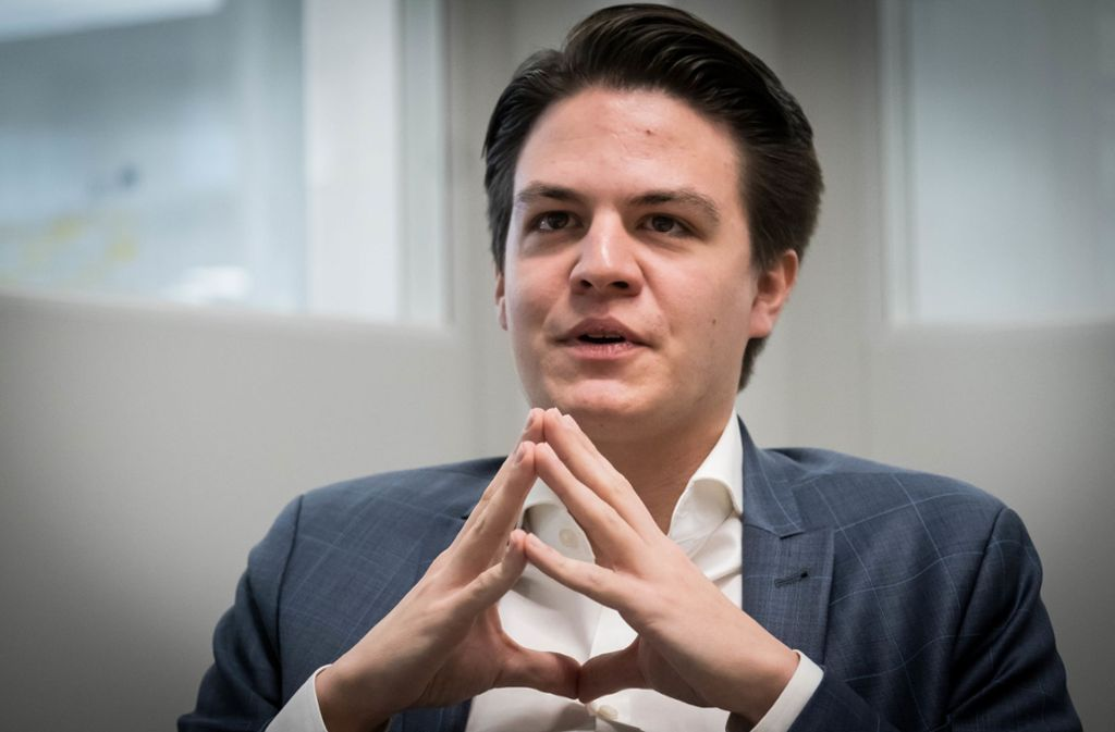 Marian Schreier (SPD) aus Stuttgart will OB werden. Foto: Lichtgut/Achim Zweygarth