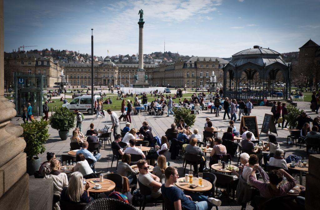 Stuttgart ist einfach schön – und hat seine Eigenheiten. Zehn Dinge, die man nur weiß, wenn man aus Stuttgart kommt... Foto: Lichtgut/Achim Zweygarth
