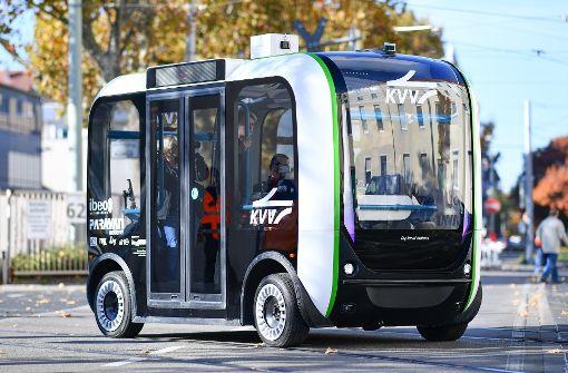 Selbstfahrende Busse als erstes konkretes Projekt