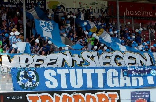 Stuttgarter Kickers II empfangen Pforzheim