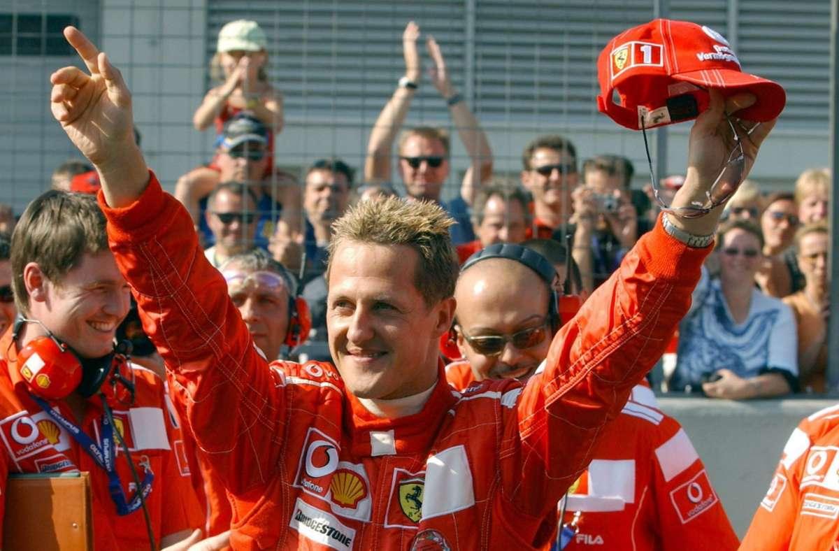 Wie Spa war auch der Nürburgring immer das Wohnzimmer von Michael Schumacher. Foto: /Foto:dpa