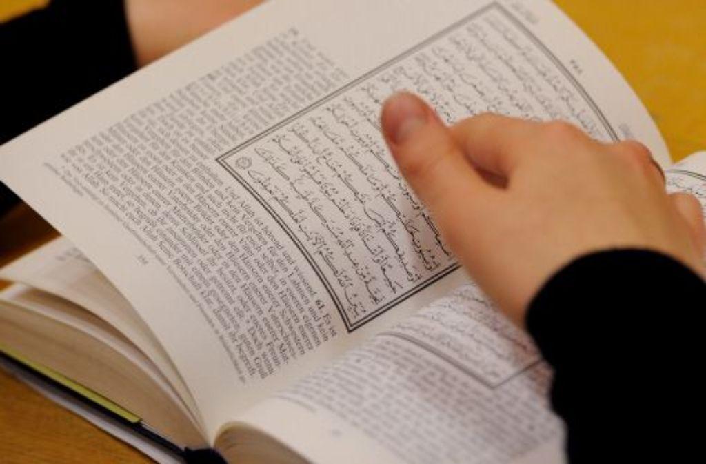 An der Universität Tübingen gibt es jetzt ein Zentrum fuer Islamische Theologie. Foto: dapd