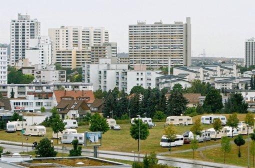 Wohnwagenlager in Leonberg empört Anwohner