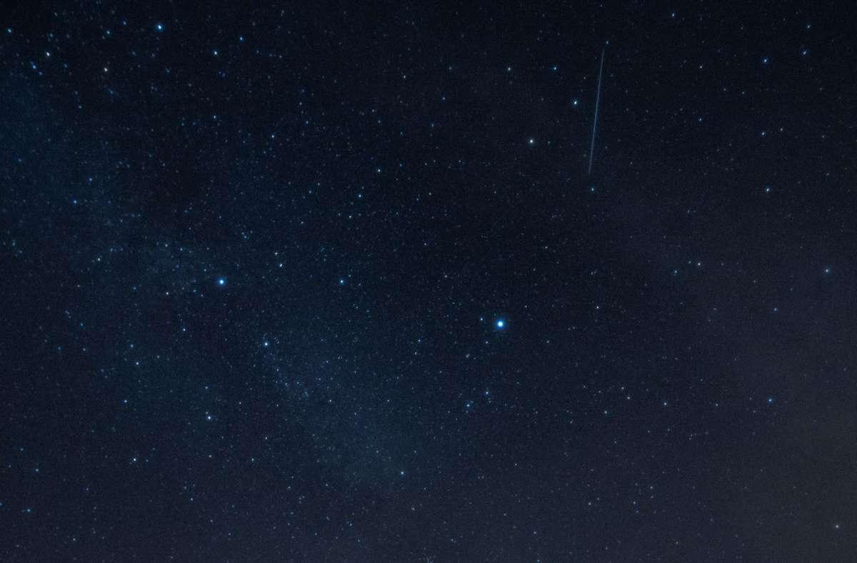 Wünsch Dir was! Der Sternschnuppenregen der Perseiden erreicht seinen Höhepunkt. Foto: dpa/Paul Zinken