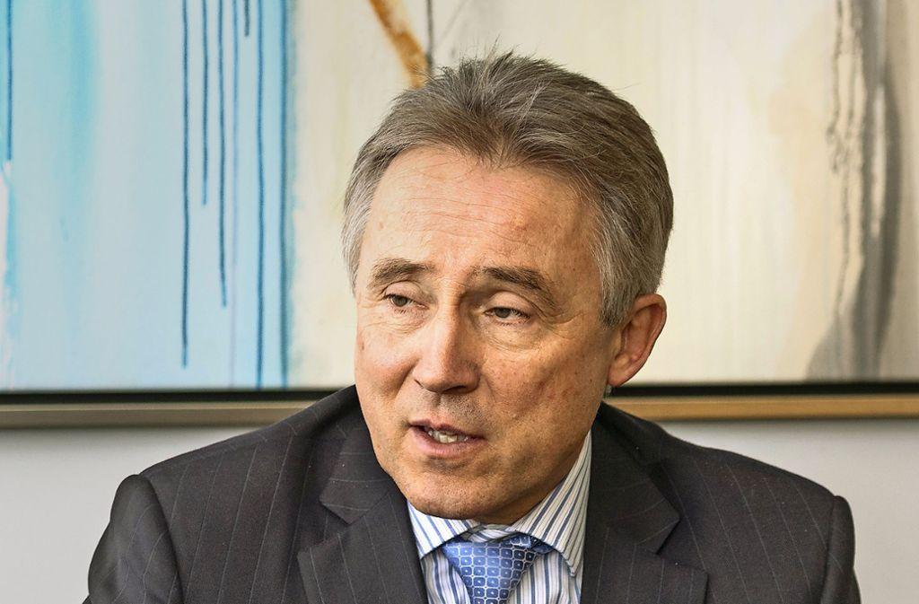 Rainer Haas ist seit fast 30 Jahren in der Kommunalverwaltung. Foto: factum/Weise