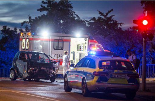 Rote Ampel nicht beachtet – zwei Schwerverletzte