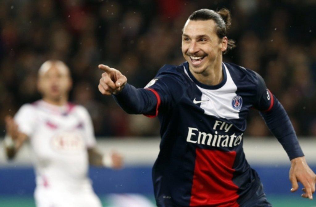 Zlatan Ibrahimovic ist der Superstar von Paris St. Germain. Foto: dpa