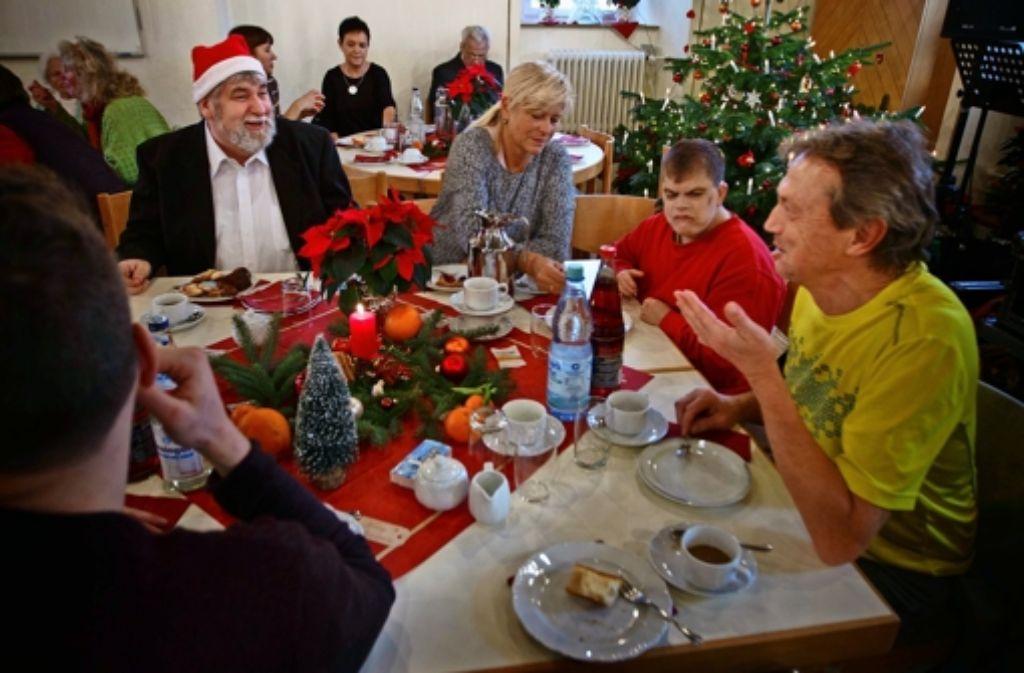 murrhardt immer mehr feiern weihnachten nicht allein rems murr kreis stuttgarter zeitung. Black Bedroom Furniture Sets. Home Design Ideas