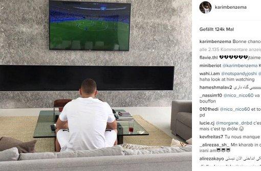 Benzema muss Frankreich-Spiel daheim schauen