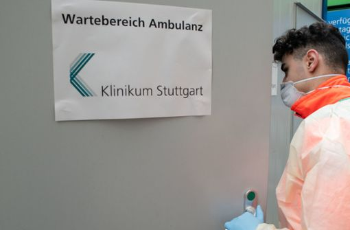 Besucherstopp in Stuttgarter Krankenhäusern