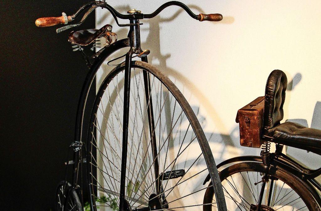 Eine runde Sache waren schon die Hochräder der Anfangszeiten. Foto: factum/Bach