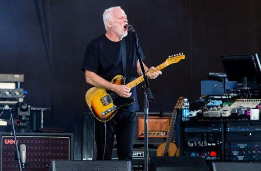 10 große Songs des Gitarristen von Pink Floyd