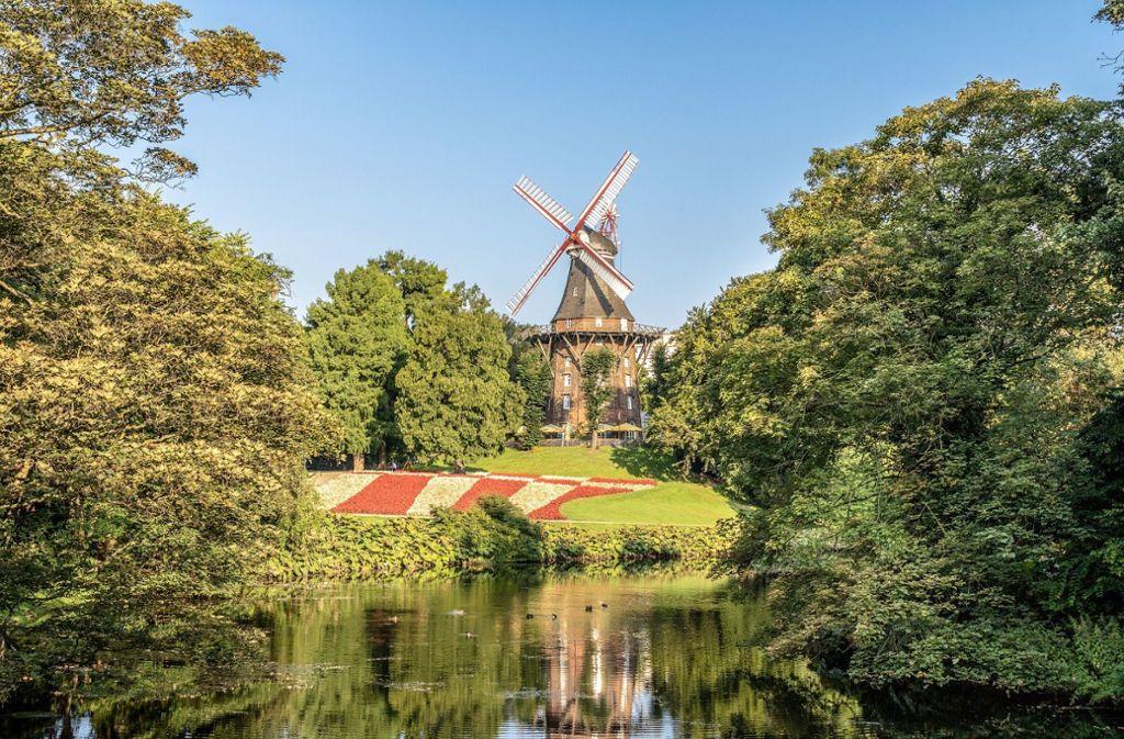 Diese traumhafte Kulisse ist nicht in Holland, sondern mitten in Bremen. Bremens Kaffeemühle ist definitiv einen Besuch wert.  Foto: Pixabay