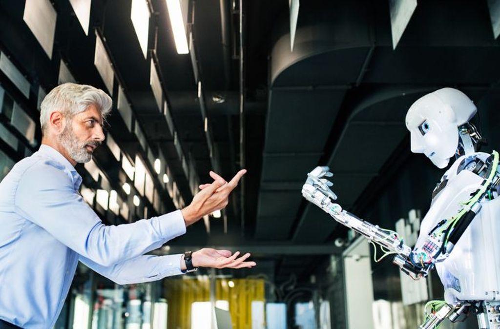 Die Maschine – Fluch oder Segen? Foto: Halfpoint/Fotolia