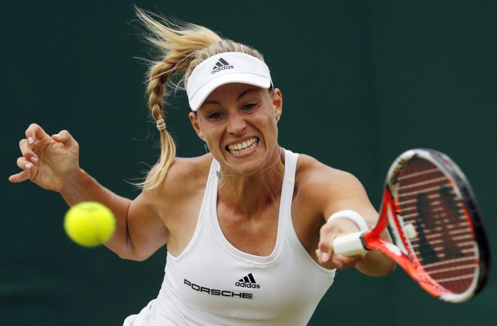 Angelique Kerber will sich in Wimbledon möglichst bis ins Endspiel durchkämpfen. Foto: AP