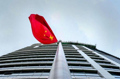 Der chinesische Wind wird rauer