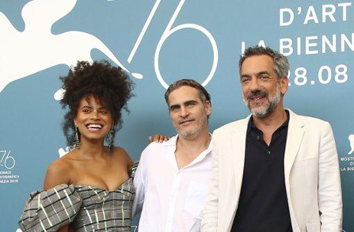 "Joaquin Phoenix als ""Joker"" gefeiert"