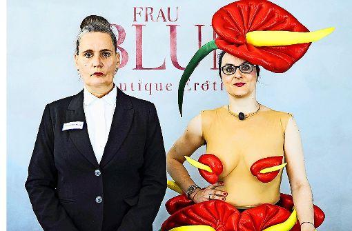 Nana Hülsewig (li.) mit Justyna   Koeke. Foto: Daniela Wolf