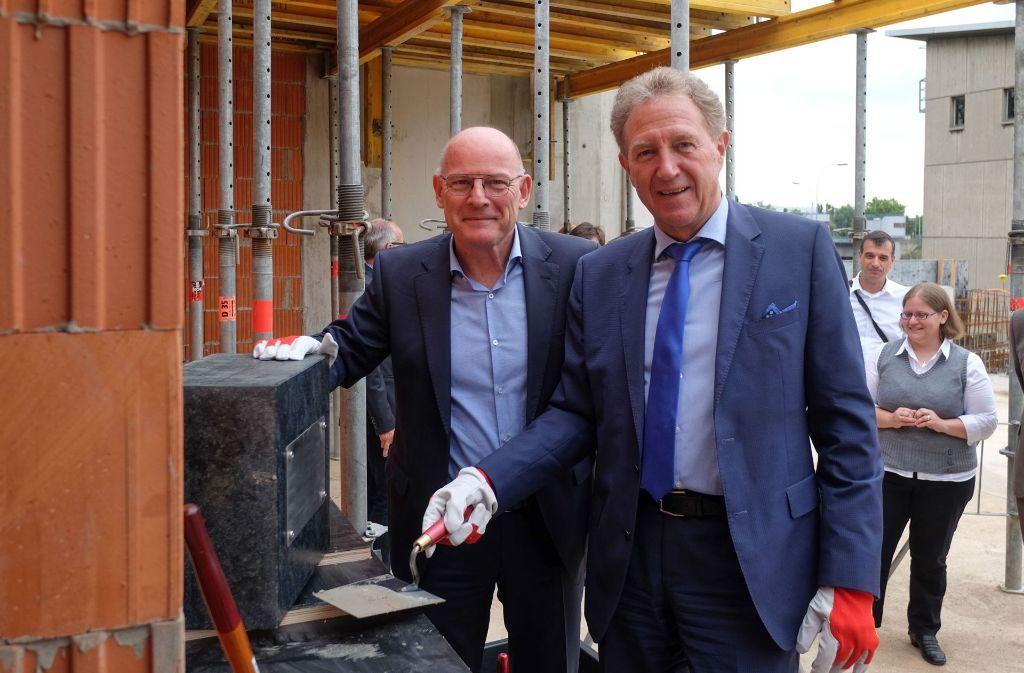 Winfried Hermann (links) und Norbert Barthle haben ihres Amtes gewaltet. Foto: Lg/Max Kovalenko