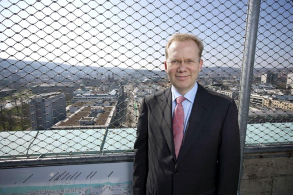 Sebastian Turner kandidiert für das höchste Stuttgarter Amt. Foto: Steinert