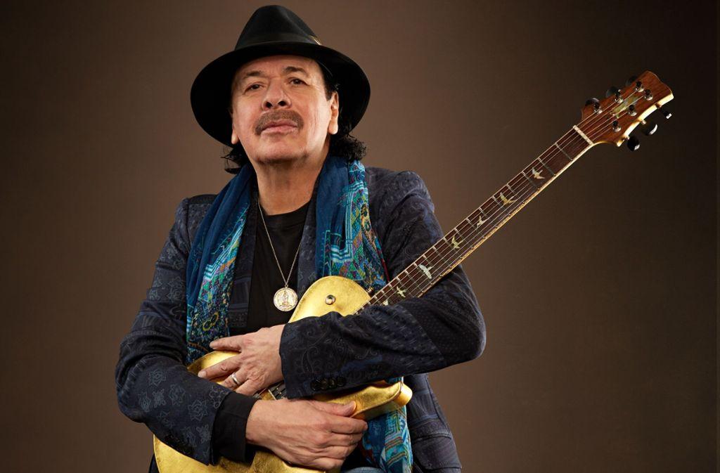 Carlos Santana Foto: Maryanne Bilham