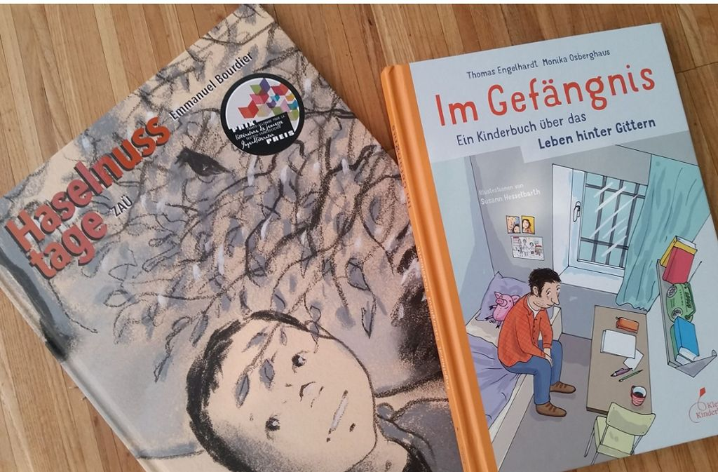 Die beiden Bücher beleuchten auf sehr einfühlsame Weise das Leben hinter (und vor) Gittern. Foto: Hans Jörg Wangner