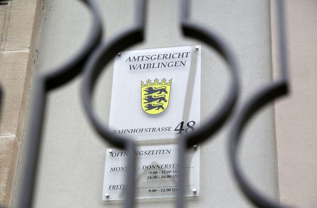 Gartenbauer muss sich vor dem Amtsgericht Waiblingen verantworten. Foto: Patricia Sigerist