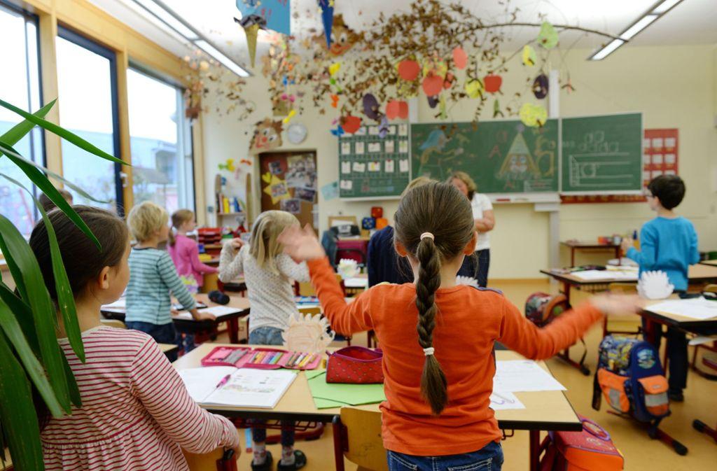 Kleine Grundschulen sieht der Rechnungshof als hohen Kostenfaktor. Foto: dpa