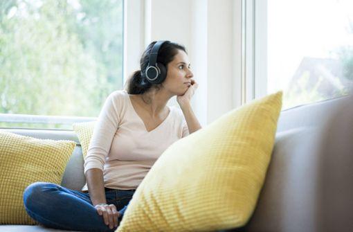 Therapiesitzung auf der heimischen Couch