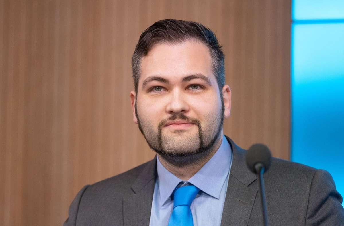Der AfD-Landtagsabgeordnete Ruben Rupp ist vor Gericht gescheitert (Archivfoto). Foto: dpa/Marijan Murat