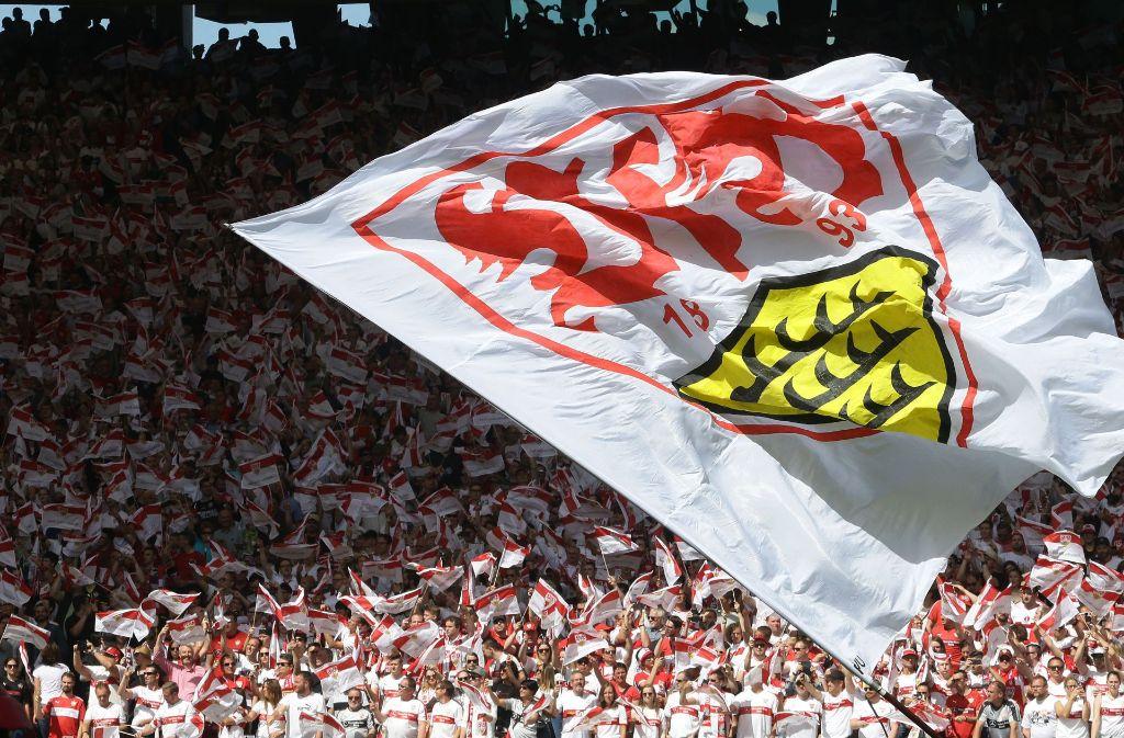 Fans des VfB Stuttgart starten eine großangelegte Aktion für den guten Zweck. Foto: Pressefoto Baumann
