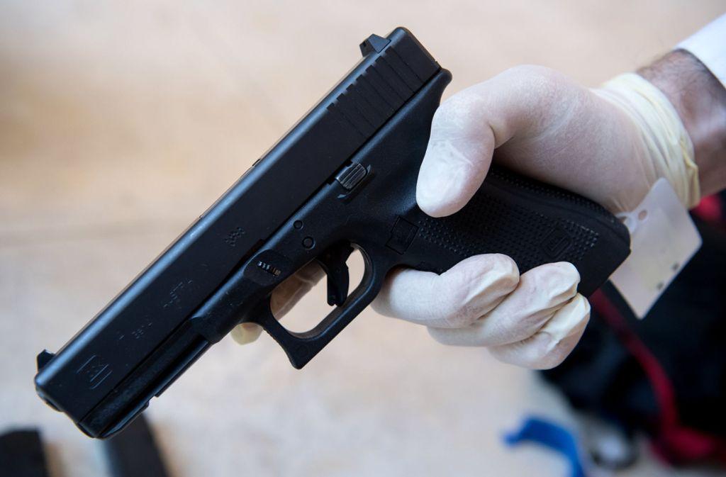 Mit dieser Waffe schoss der Attentäter in München um sich. Foto: dpa