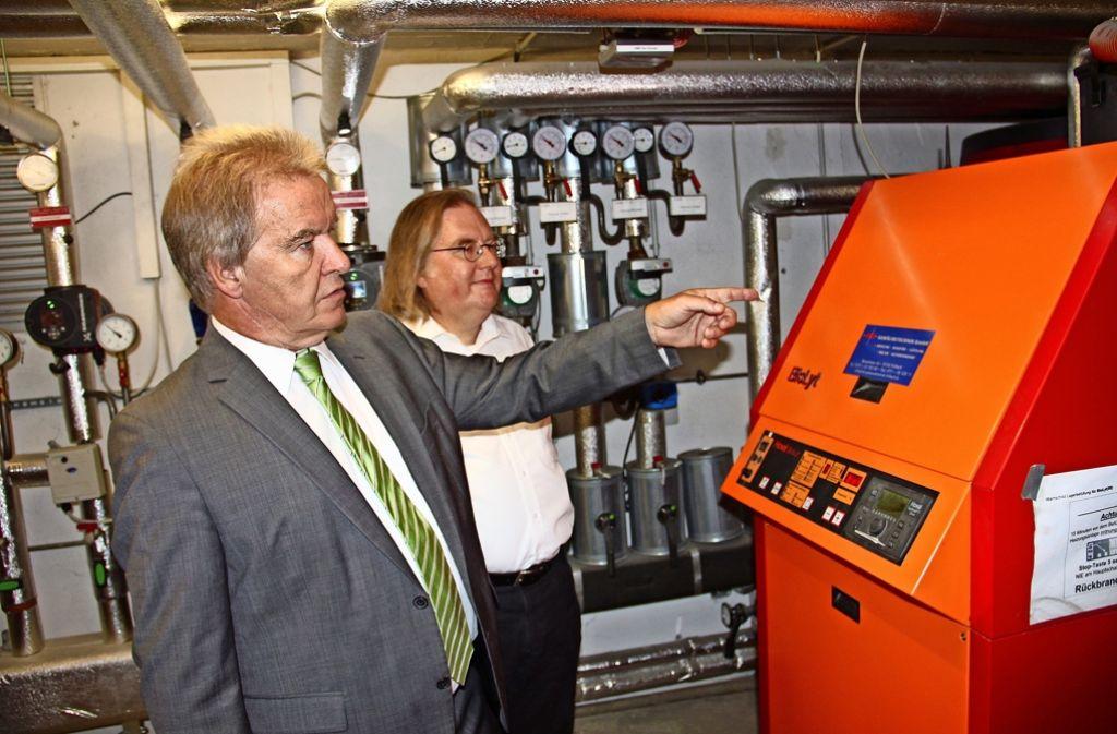 Franz Untersteller (links) und Peter Pätzold Foto: Bernd Zeyer