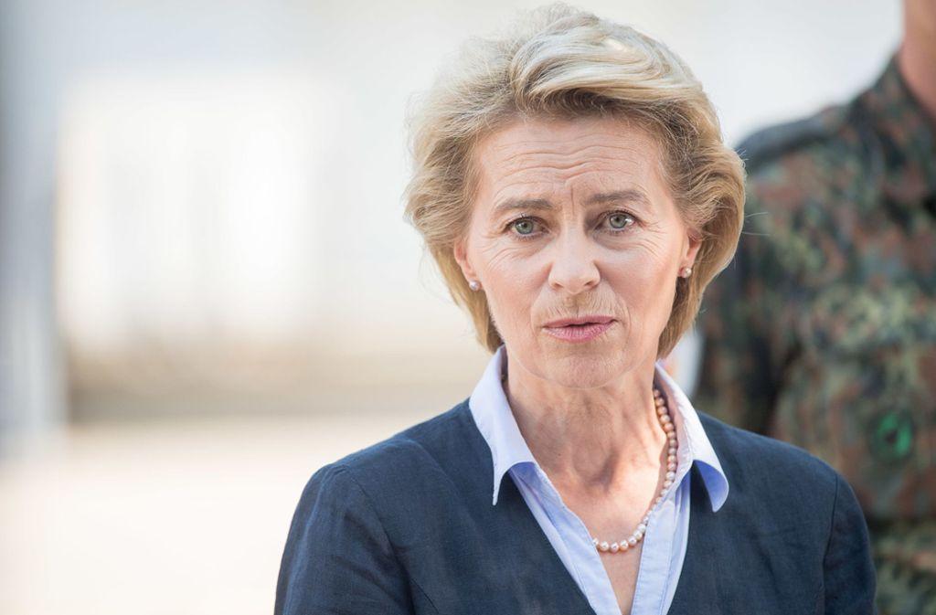 Wird Ursula von der Leyen neue Kommissionspräsidentin? Foto: dpa