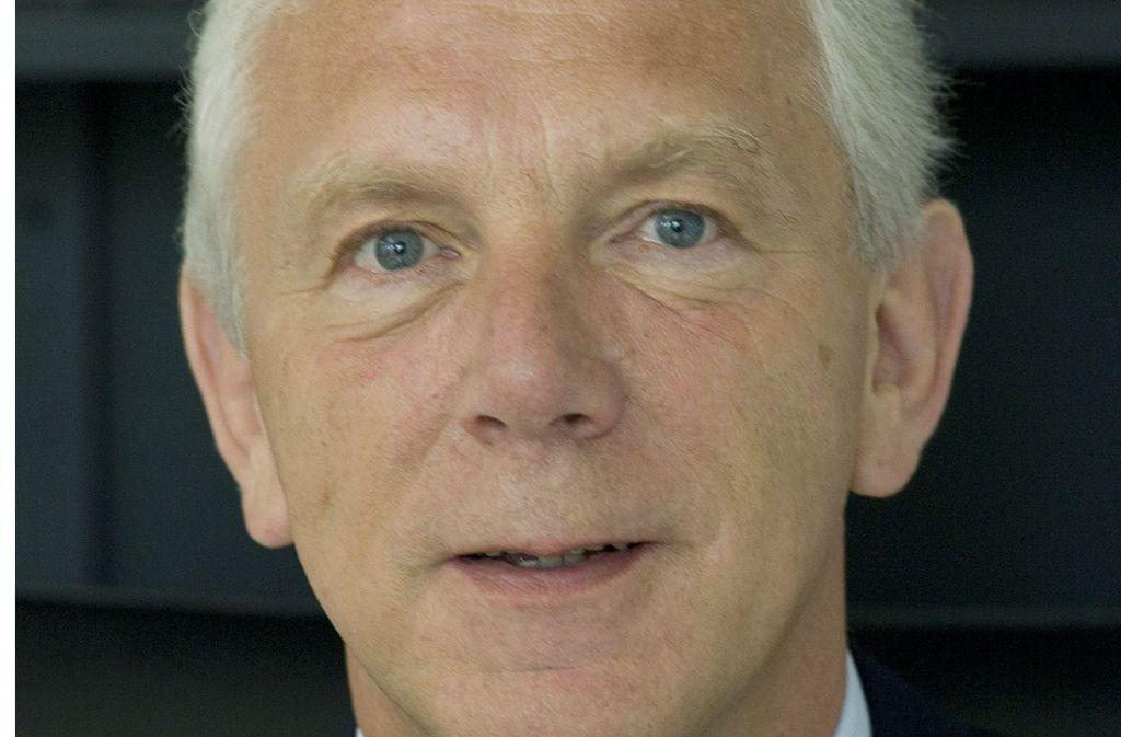 Der Heilbronner Oberbürgermeister Harry Mergel Foto: dpa-Zentralbild