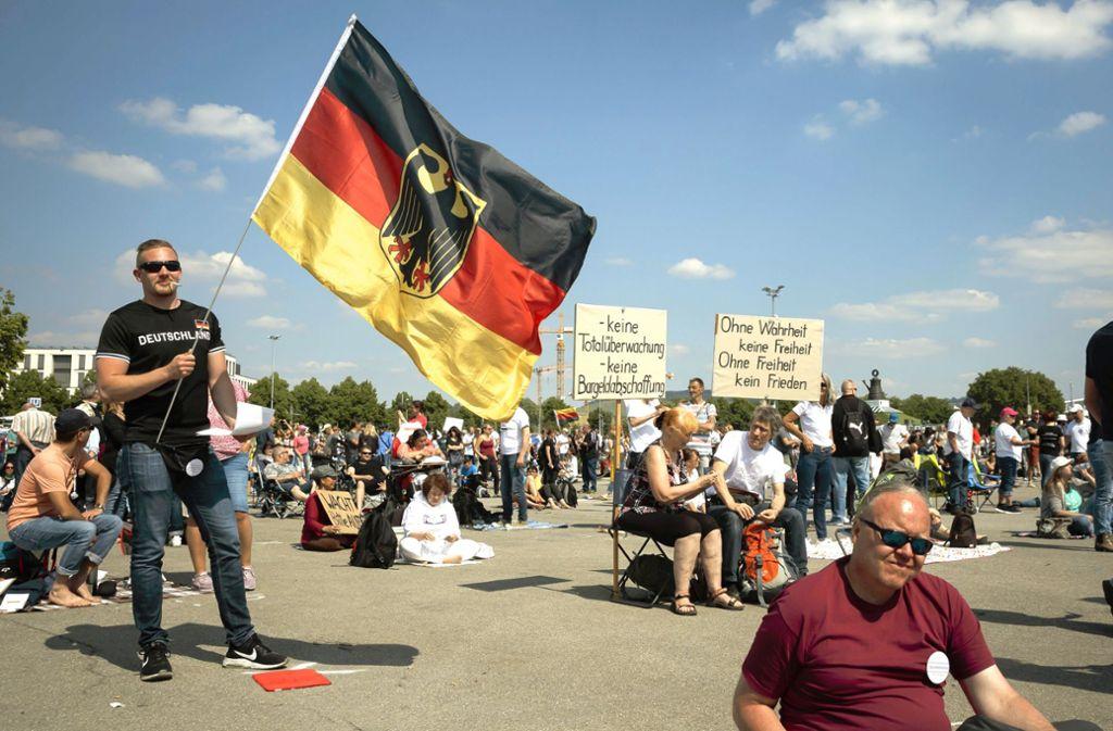 Kritiker befürchten eine Vereinnahmung durch Verschwörungstheoretiker und Rechtspopulisten. Foto: Lichtgut/Julian Rettig