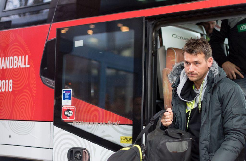 Es kann los gehen: Bundestrainer Christian Prokop und die deutsche Nationalmannschaft sind gut in Kroatien angekommen. Foto: dpa